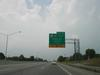 Exit from north bound I-75 to the Daniel Boone Parkway and KY 80