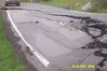 [Damage to KY 404 in Floyd County]