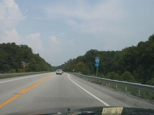 KY 80 in Laurel County. (July 6, 2003)