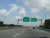 Northbound on I-265 at Exit 34. (July 6, 2003)