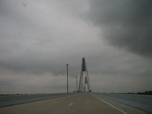 Northbound on the William H. Natcher Bridge (October 26, 2002)