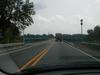 This the Indiana approach to the current US 231 bridge at Owensboro.