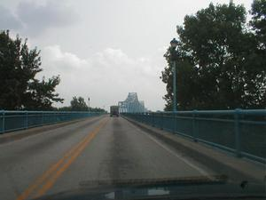 KY 2155-IN 161 Glover Carey Bridge in Owensboro