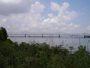 US 31 Second Street Bridge (a.k.a. Clark Memorial Bridge) in Louisville