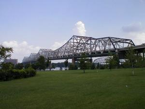 I-65 John F. Kennedy Bridge in Louisville