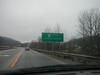 """Entering the Bert T. Combs Mountain Parkway"" near Salyersville (January 3, 2003)"