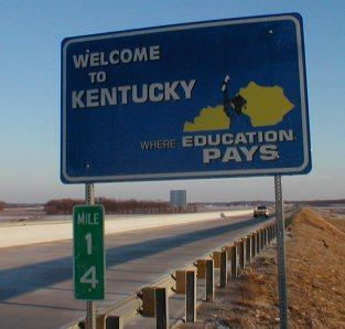 [Welcome to Kentucky]