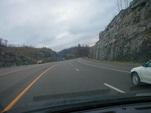 US 23 in Letcher County (January 2, 2003)