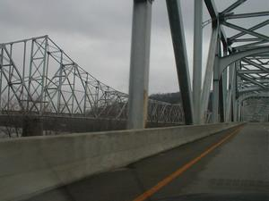US 23 Spur - 13th Street and 12th Street Bridges (January 3, 2003)