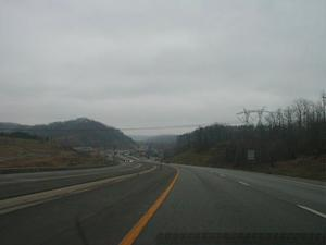 US 23 in Floyd County (January 3, 2003)