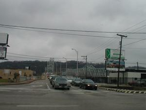 US 23 Spur - The 12th and 13th Street Bridges in Ashland (January 3, 2003)