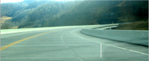 New US 421 near Harlan - Bobs Creek Exit