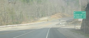 New US 421 near Harlan - Cawood Exit